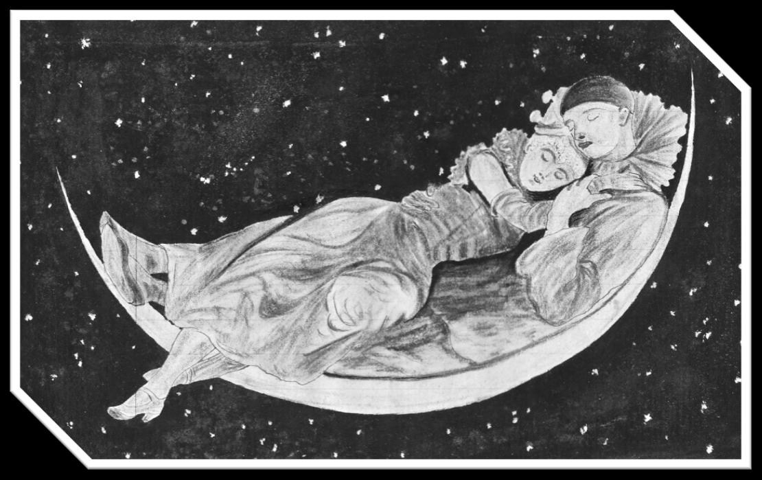 Dessin original de Gaston Persin réalisé en 1898