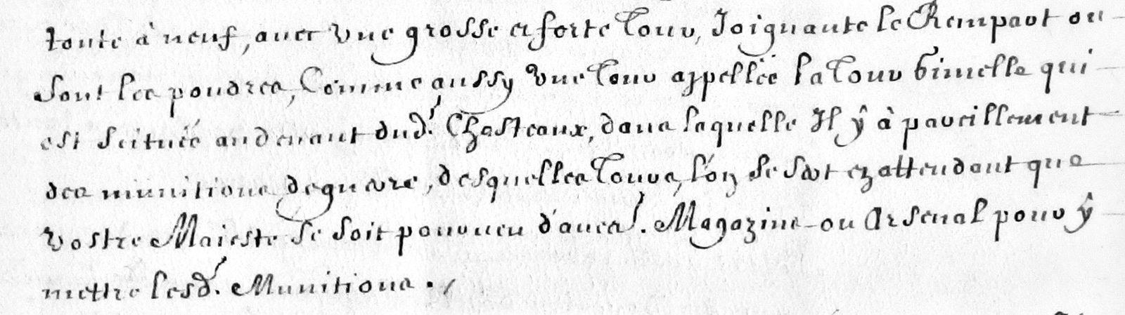 1668 - La seigneurie de Meilbourg (Tours -  Hôtel de Créhange - Infos diverses)