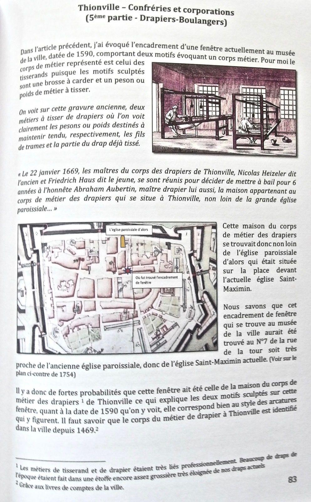 1675 – Thionville -Ponts et palissades des fortifications