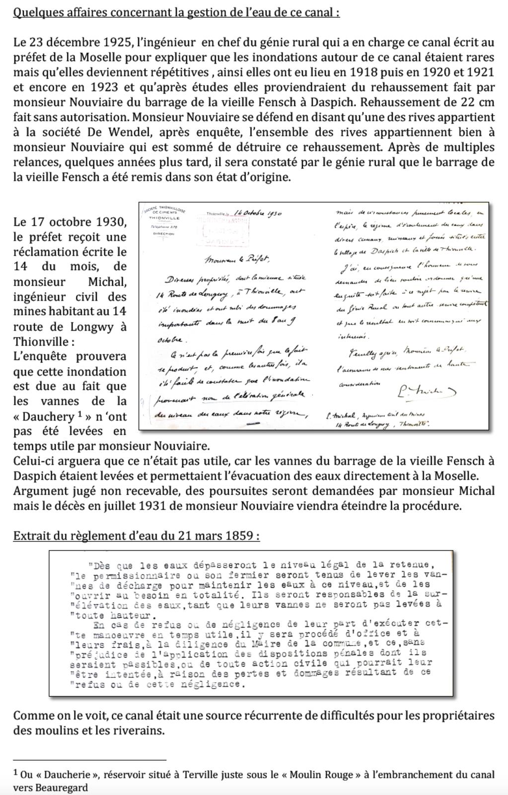 1458-2019 * Vie et mort du moulin de Thionville (suite 3)