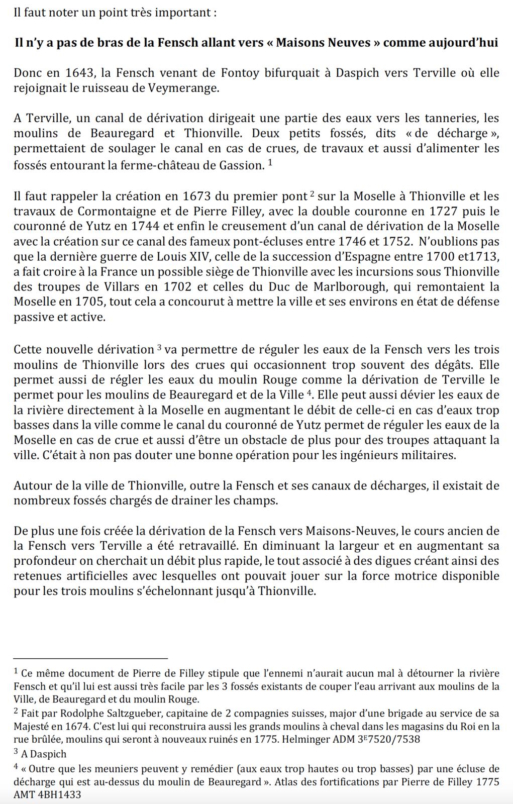 1458-2019 * Vie et mort du moulin de Thionville (suite N° 9 et fin de la série)