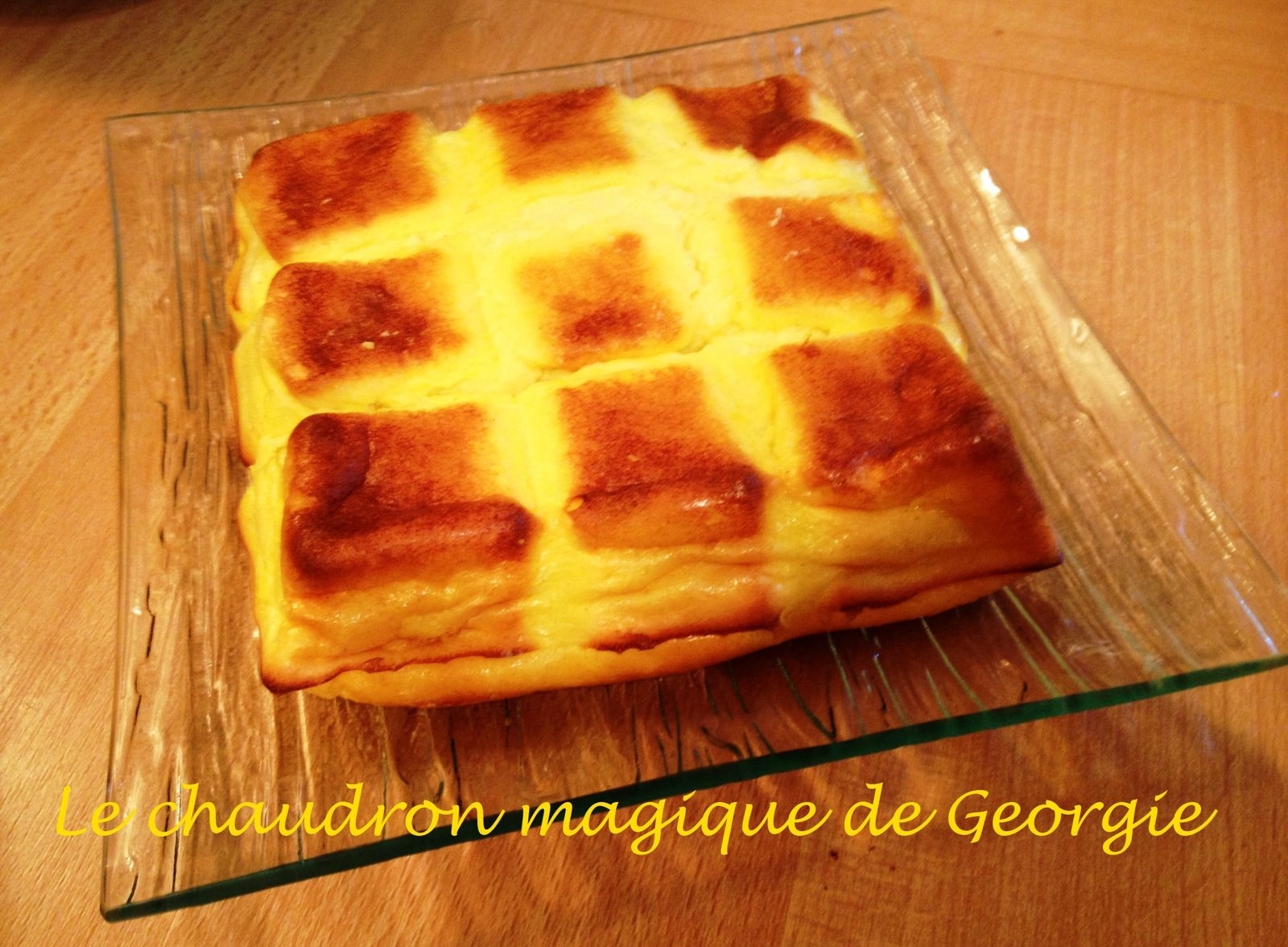 Gateau vanille weight watchers