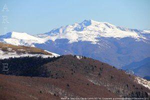 Massif de Tabe vu du Cap de Carmil (1617m)