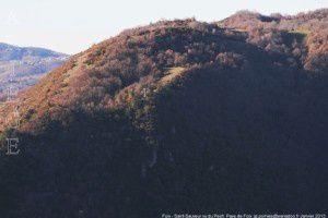 Foix - Saint-Sauveur vu du Pech
