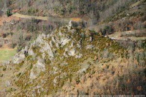 Tour de Montorgueil vue du Calamès (1002m)