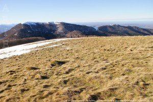 Cap de Carmil vu du pic de Razels (1600m)