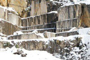 Carrière de marbre d'Uchentein