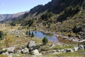 Etang (2047m) - Vallée de Rieufort de Gascous