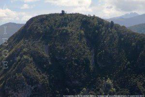Le Calamès vu du Souleilhan (920m)