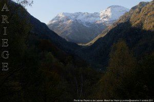 Pla de las Peyres vu de Laparan