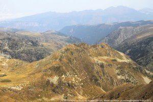 Pic de l'Estagnol vu du pic de Serrère (2912m)