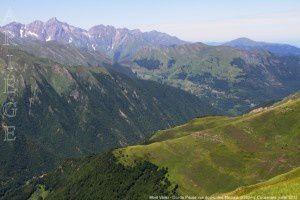 Mont Valier - Col de Pause vus du pic des Maurets (2262m)