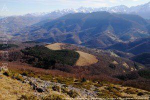 La Bellongue du sommet de Cornudère (1561m)