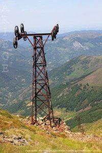 Pylône du cable - Mine de la Mail de Bulard (2300m)