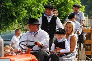 Défilé des tracteurs - Autrefois le Couserans