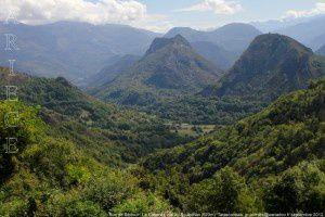 Roc de Sédour - Le Calamès vus du Souleilhan (920m)