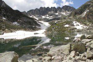 Premier étang de l'Albe (2295m)