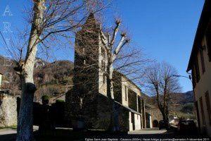 Eglise Saint-Jean Baptisie - Caussou
