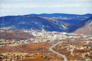 Foix vu du Pech