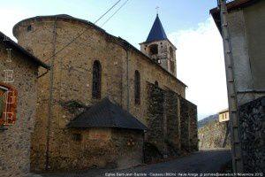 Eglise Saint-Jean-Baptiste - Caussou (860m)