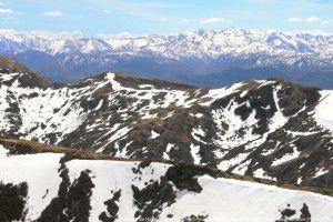 Monts de la Haute Ariège vus du mont Fourcat (2001m)