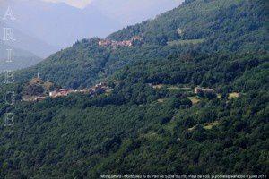 Montgailhard - Montoulieu vu du Pain de Sucre (627m)