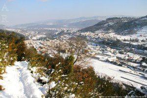 Foix vu de Saint-Sauveur