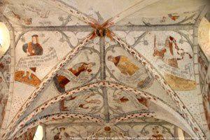 Fresques (Fin XVème- début XVIème siècle) - Cathédrale Notre-Dame de la Sède - Saint-Lizier