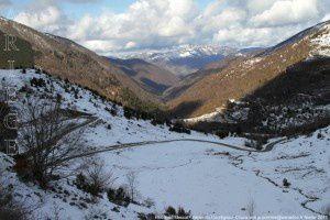 Route de Massat - Vallée du Courtignous