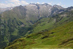 Vallée d'Ossèse vue du pic de Soubirou (2277m)