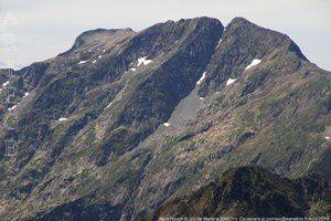 Mont Rouch du pic de Marterat (2662m)