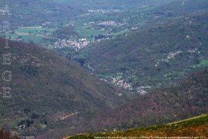 Vallée du Lez vue du tuc du Coucou (1890m)