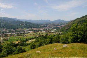Foix vue du Pech (700m)
