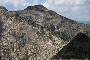 Pic de Montabone du pic de Couillac (2601m)