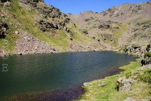 Etang de Caraussans (2440m)