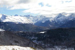 Haute Ariège depuis le pic Doulent (1780m)
