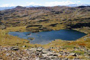 Etang de Liat de l'étang du portillon d'Albe (2431m)
