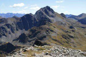 Pic de Maubermé du pic de Serre Haute (2713m)