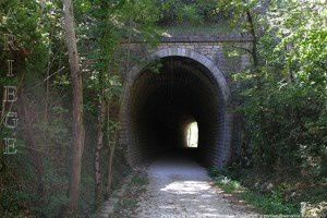 Pont sous la Voie verte - La Barraque