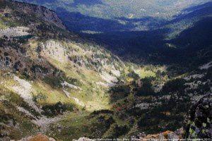 Vallon de Barbouillère du Roc Blanc (2542m)