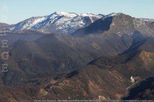 Pic des Trois Seigneurs - Mont Béas depuis le Tuc de Peyre Mensongère (1711m)