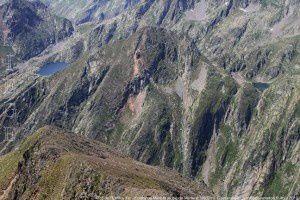 Roc de l'Estany Xic - Estany de Mariola du pic de Marterat (2662m)