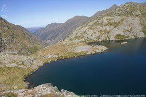 Deuxième étang de la Gardelle (2390m)