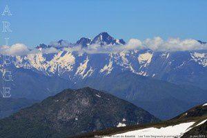 Mont Valier vu du pic de Bassibié (2114m)