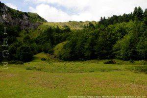 Anciennes mines de talc du Fangas (1450m)