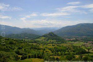 Vallée de l'Ariège vue du Pech (700m)