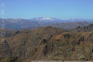 Massif de la Maladeta du pic sud de Canalbonne (2849m)