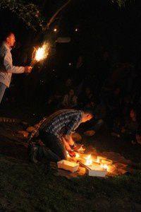 Eclairage à la lampe - Nuit de la préhistoire