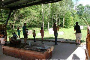 Atelier de la chasse - Parc de la Préhistoire
