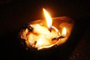 Lampe - Nuit de la préhistoire